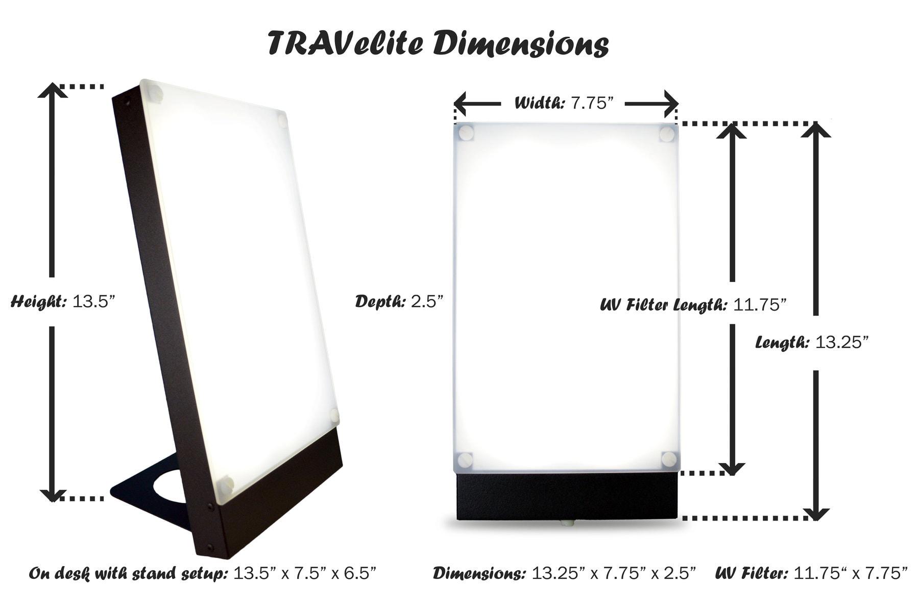 Travelite Desk Lamp Northern Light Technologies Canada
