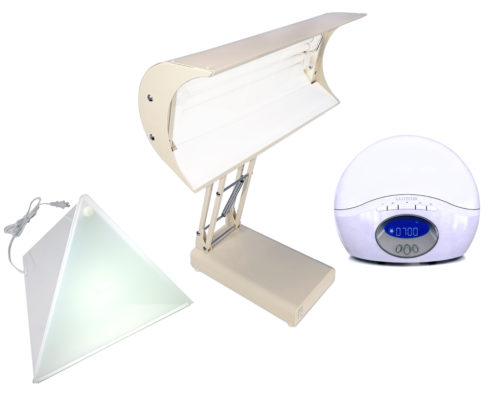 Bright light therapy care package